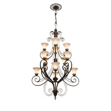 <strong>Kalco</strong> Mirabelle 12 Light Chandelier