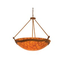 Aegean 6 Light Bowl Inverted Pendant
