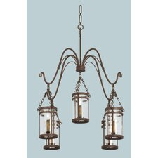 <strong>Kalco</strong> Morris 5 Light Chandelier