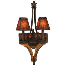 Aspen 2 Light Wall Sconce