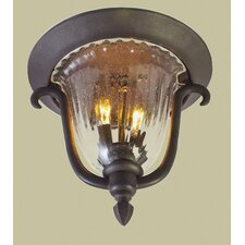 <strong>Kalco</strong> Santa Barbara 2 Light Outdoor Flush Mount