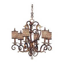 <strong>Kalco</strong> Chesapeake 6 Light Chandelier