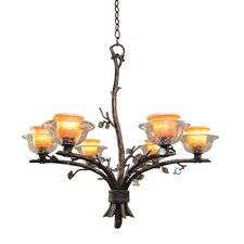 <strong>Kalco</strong> Cottonwood 6 Light Chandelier
