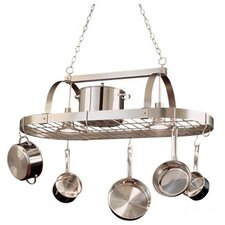 <strong>Kalco</strong> Hanging Pot Rack with 2 Light