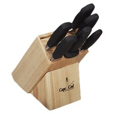 6 Piece Steak Knife Block Set with Block