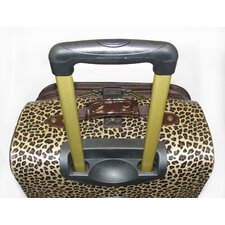 Leopard 4 Piece Luggage Set