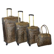Jungle 4 Piece Luggage Set