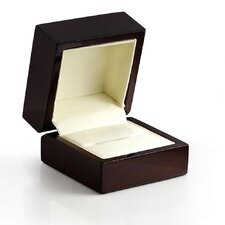 <strong>West Coast Jewelry</strong> Wooden Ring Box