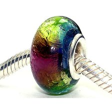 Coastal Reggae Glass Bead (Pack of 3)