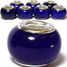 Midnight Glass Bead (Set of 3)