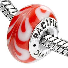 <strong>West Coast Jewelry</strong> Pacific 925 Murano Decadence Glass Bead