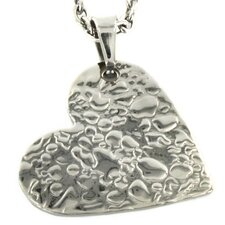 <strong>West Coast Jewelry</strong> Stainless Steel Heart Necklace