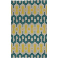 Spain Blue Green/Yellow Rug