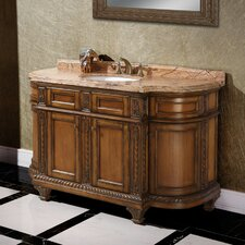 "<strong>Legion Furniture</strong> 60"" Solid Wood Single Vanity Set"
