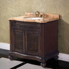 "<strong>Legion Furniture</strong> 36"" Solid Wood Single Vanity Set"