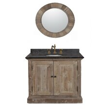 """37"""" Solid Recycled Fir Single Vanity Set"""