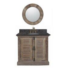 "37"" Solid Wood Single Vanity Set"