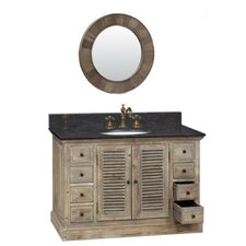 "49"" Solid Wood Single Vanity Set"