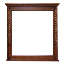 <strong>Legion Furniture</strong> Vanity Mirror in Light Walnut
