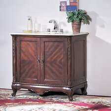 "<strong>Legion Furniture</strong> 38"" Lemmon Sink Chest Vanity Set"