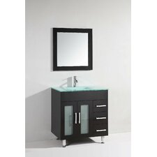 "32"" Single Bathroom Vanity Set with Mirror"