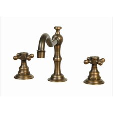 Widespread Faucet with Double Cross Handles