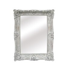 <strong>Legion Furniture</strong> Wood Mirror in Antique White