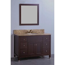 "<strong>Legion Furniture</strong> 48"" Bathroom Vanity Set with Mirror"