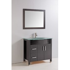 "<strong>Legion Furniture</strong> 36"" Bathroom Vanity Set with Mirror"