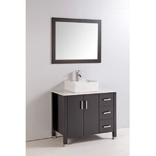 "36"" Bathroom Vanity Set with Mirror"