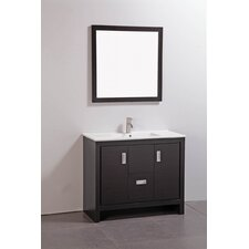 "<strong>Legion Furniture</strong> 39"" Bathroom Vanity Set with Mirror"