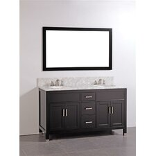 "<strong>Legion Furniture</strong> 60"" Bathroom Vanity Set with Mirror"