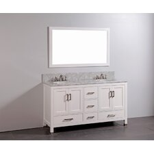 "60"" Bathroom Vanity Set with Mirror"