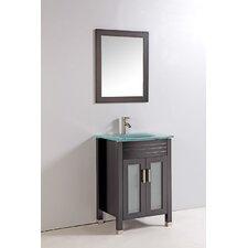 "24"" Single Bathroom Vanity Set with Mirror"