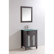 "<strong>Legion Furniture</strong> 24"" Bathroom Vanity Set with Mirror"