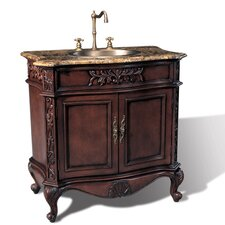 "36"" Hampshire Single Sink Chest Vanity Set"
