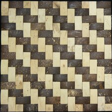 "1-1/2"" x 3/4"" Coconut Tile"