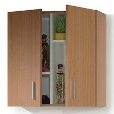 Multi Purpose 2 Shelf Storage Cabinet