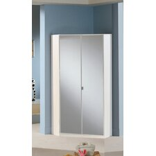 <strong>Amos Mann Furniture</strong> Milano 2 Door Corner Wardrobe
