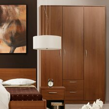 Napoli 3 Door 2 Drawer Wardrobe