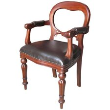 Mahogany Dutch Office Chair in Mahogany