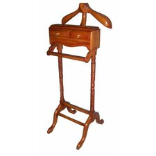 <strong>Lock Stock and Barrel</strong> Mahogany Valet Stand
