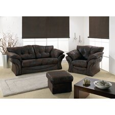 Florida Leather Sofa Set