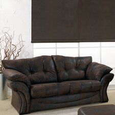 Florida Leather 3 Seater Sofa