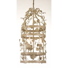 <strong>Linea Verdace</strong> Michelangelo 3 Light Cage Chandelier