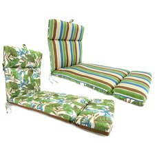 Reversible Universal Chaise Lounge Cushion