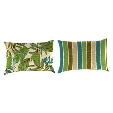 Reversible Rectangle Toss Pillow