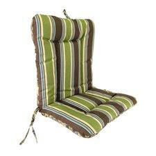Wrought Iron Reversible Chair Cushion