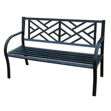 Maze Metal Garden Bench