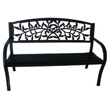 Vine Metal Garden Bench